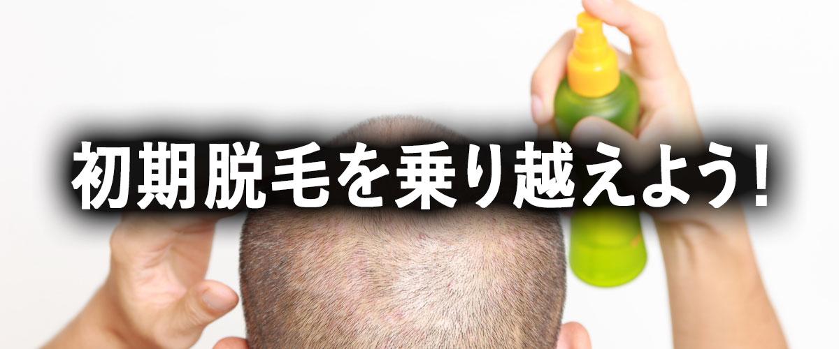育毛剤で抜け毛が増える?